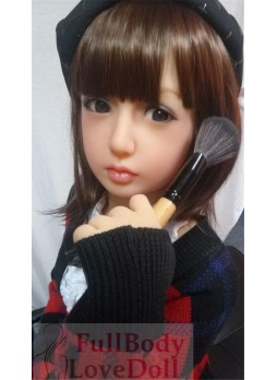 Japanese make-up lovely girl doll 138 cm seduction red lips