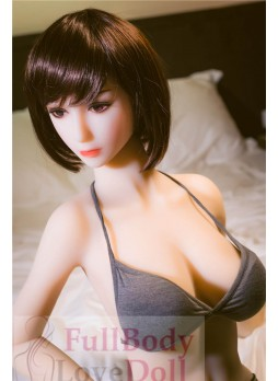 Slim figure asian woman sex doll 148 cm with big boobs