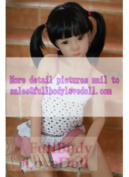 Flat chest love dolls 106 cm much more like human girl with real makeup