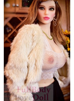 Europeanized faces beauty 165 cm modern girl with big boobs sexy adult commodity